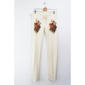 NEW Wildfox 70s Banquet Champagne Baby Jogger Pant